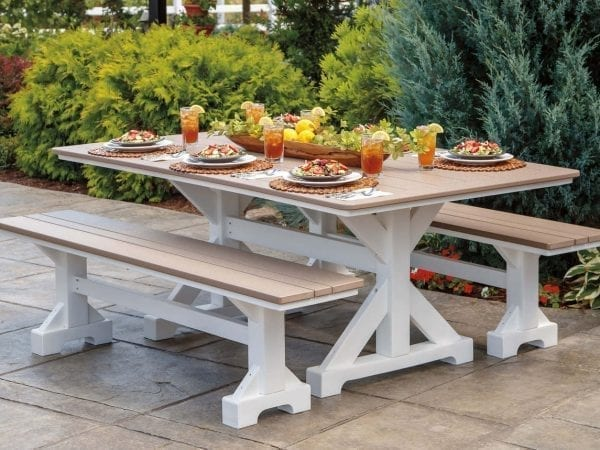 Casual Comfort Picnic Collection Harvest Table and Benches $2499
