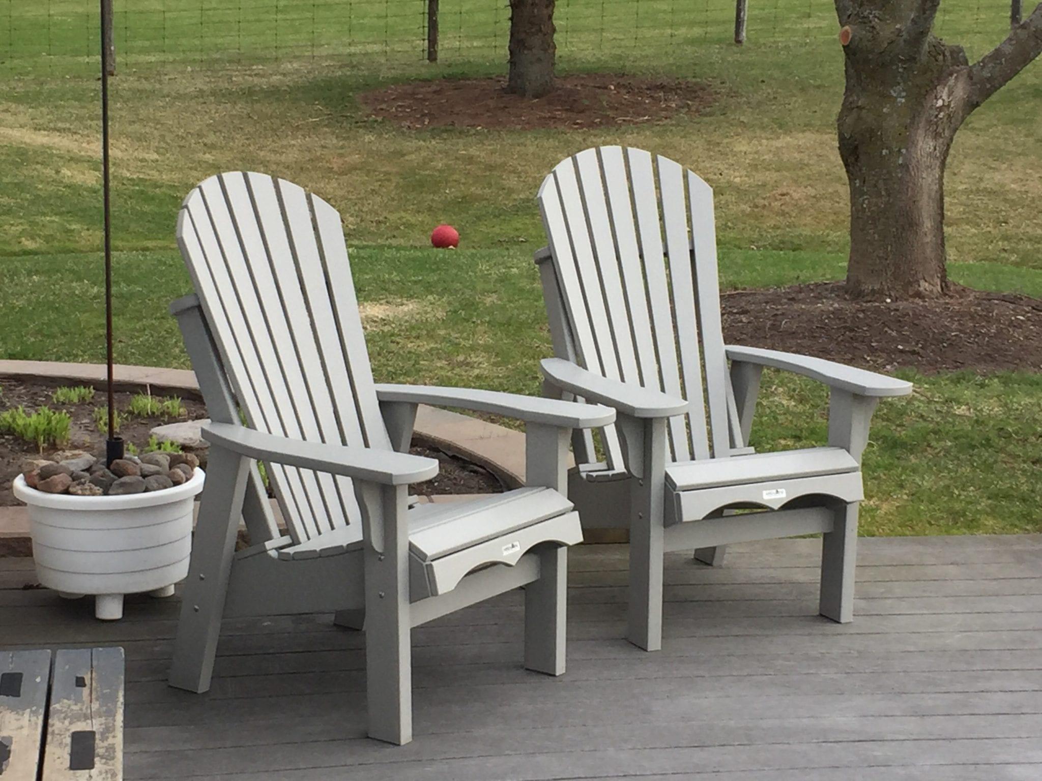 Krahn Small Adirondack Patio Chair 319 Cottage Chairs